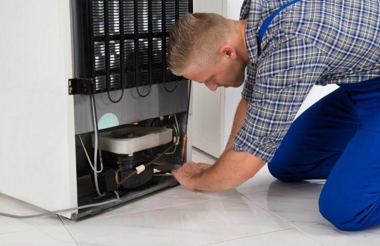 Замена компрессора холодильника в Одессе